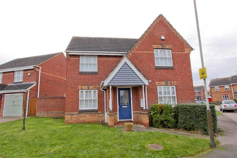 3 Bedrooms Detached House for sale in Taverners Road, Leicester
