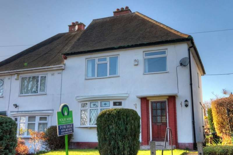 3 Bedrooms Semi Detached House for sale in The Willows, Throckley, Newcastle Upon Tyne, NE15