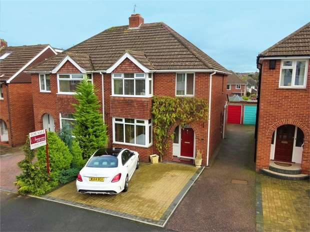 3 Bedrooms Semi Detached House for sale in Madison Avenue, Heavitree, EXETER, Devon