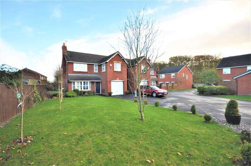 4 Bedrooms Detached House for sale in Linden Close, Clifton, Preston, Lancashire, PR4 0YP