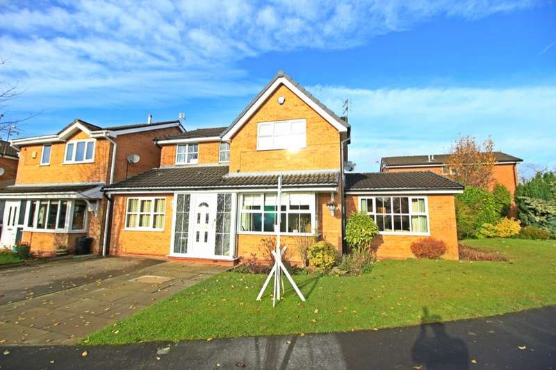 4 Bedrooms Detached House for sale in Thirlmere Avenue, Astley,Tyldesley, Manchester, M29