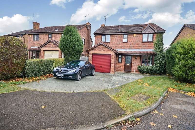 4 Bedrooms Detached House for sale in Woodhall Close, Kirkby-In-Ashfield, Nottingham, NG17