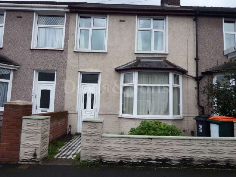 3 Bedrooms Terraced House for sale in Malpas Road, Newport, Gwent. NP20 5PN
