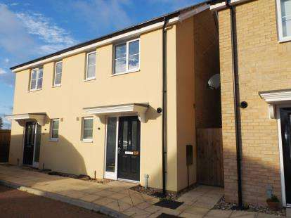 2 Bedrooms Semi Detached House for sale in Carbrooke, Thetford, Norfolk