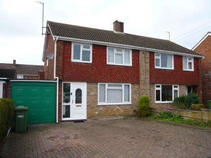 3 Bedrooms Semi Detached House for sale in Longsands Road, St. Neots, Cambridgeshire