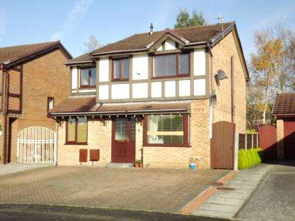 4 Bedrooms Detached House for sale in Firsby Avenue, Bredbury, Stockport, Greater Manchester