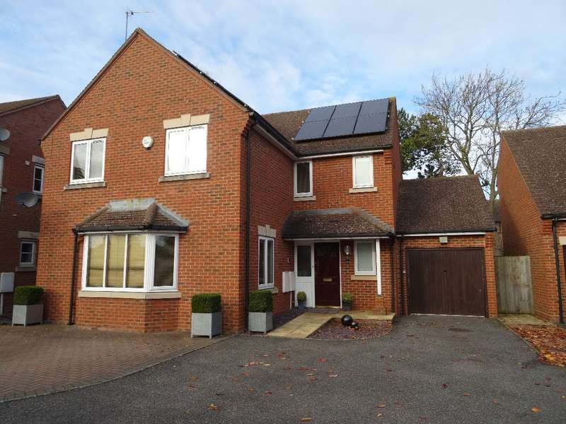 4 Bedrooms Detached House for sale in STONE PIT CLOSE, OLNEY