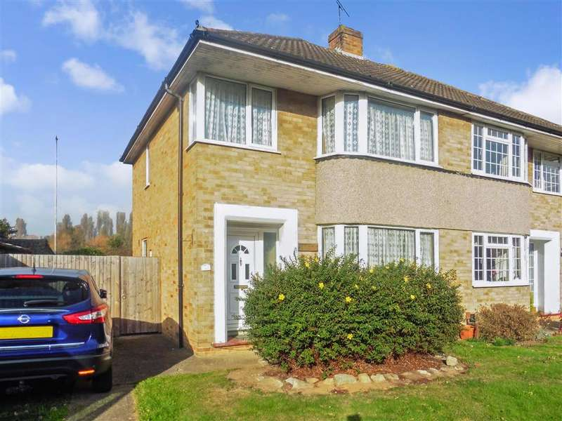 3 Bedrooms Semi Detached House for sale in Sedley Close, Aylesford, Kent
