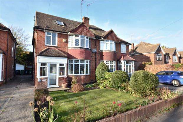 4 Bedrooms Semi Detached House for sale in Moorfield Road, Denham Green, Denham
