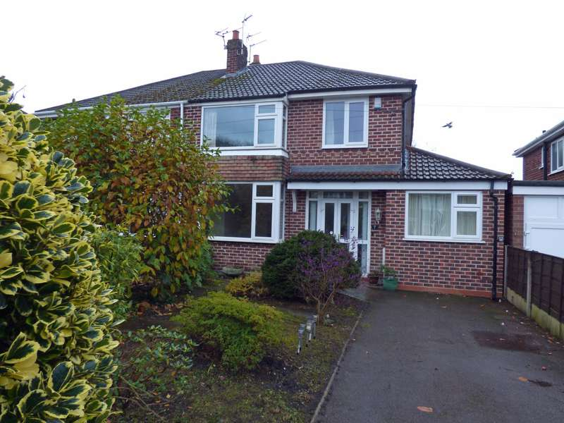 4 Bedrooms Semi Detached House for sale in Edale Close, Hazel Grove, Stockport