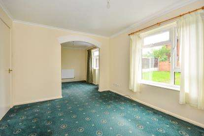 2 Bedrooms End Of Terrace House for sale in Saxby Drive, Mansfield, Nottinghamshire