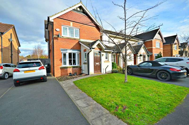 3 Bedrooms Semi Detached House for sale in Abbeydale Close, Cheadle Hulme