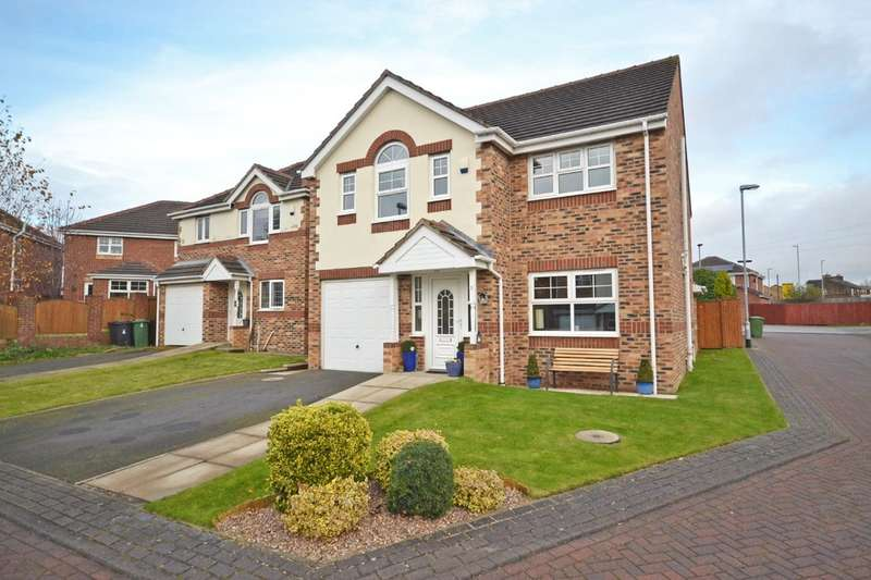 4 Bedrooms Detached House for sale in Shancara Court, Tingley, Wakefield