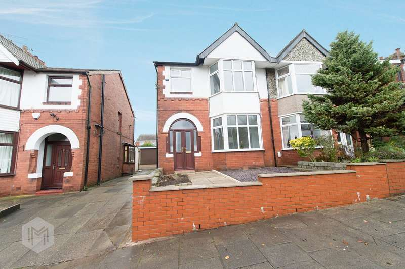 3 Bedrooms Semi Detached House for sale in Woodsley Road, Doffcocker, Bolton, BL1