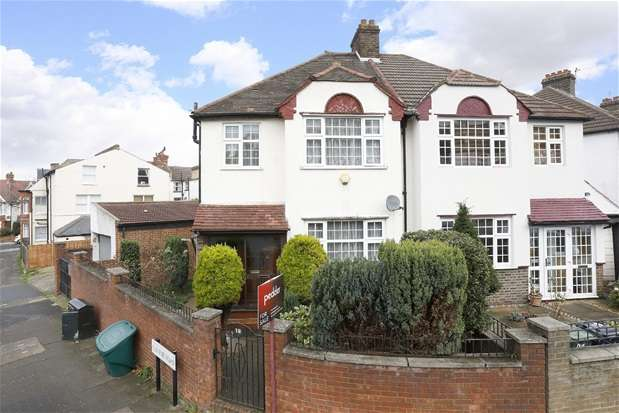 3 Bedrooms Semi Detached House for sale in Glennie Road, West Norwood
