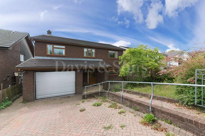 4 Bedrooms Detached House for sale in Pant Glas Court, Bassaleg, Newport, Newport. NP10 8JE