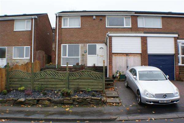 3 Bedrooms Semi Detached House for sale in Meadow Way, Lanchester