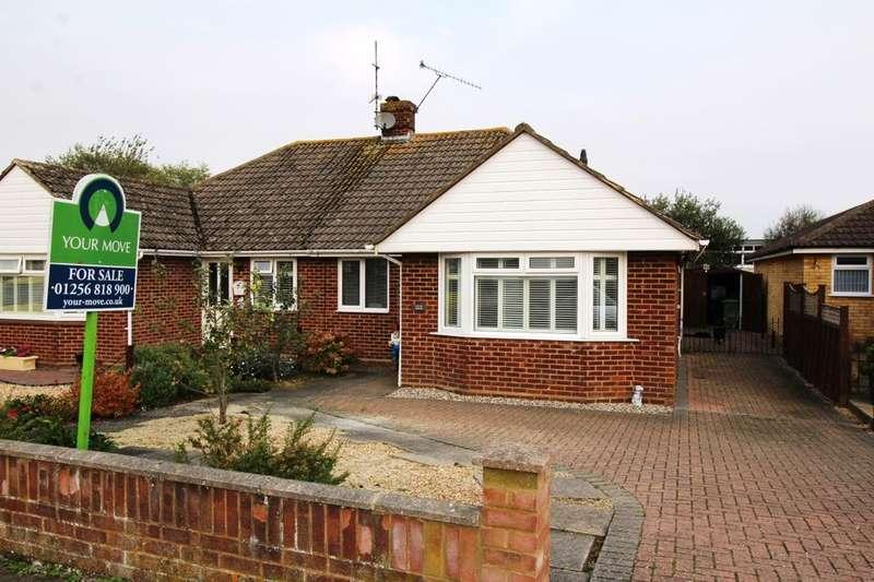 3 Bedrooms Semi Detached Bungalow for sale in Denham Drive, Basingstoke, RG22