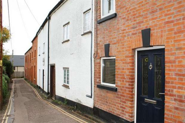 2 Bedrooms Terraced House for sale in Water Lane, Tiverton, Devon