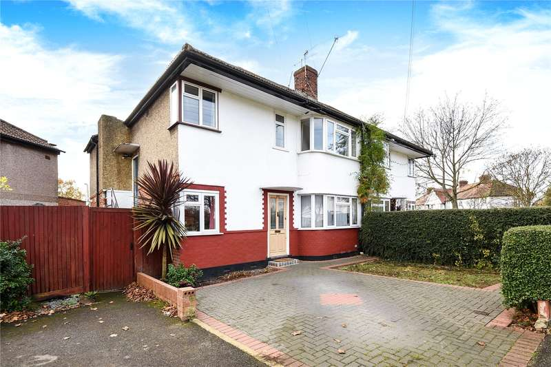 3 Bedrooms Maisonette Flat for sale in Shaftesbury Avenue, South Harrow, Harrow, Middlesex, HA2