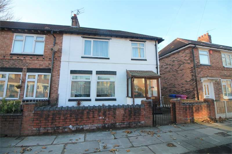 3 Bedrooms End Of Terrace House for sale in Lindsay Road, Anfield, LIVERPOOL, Merseyside