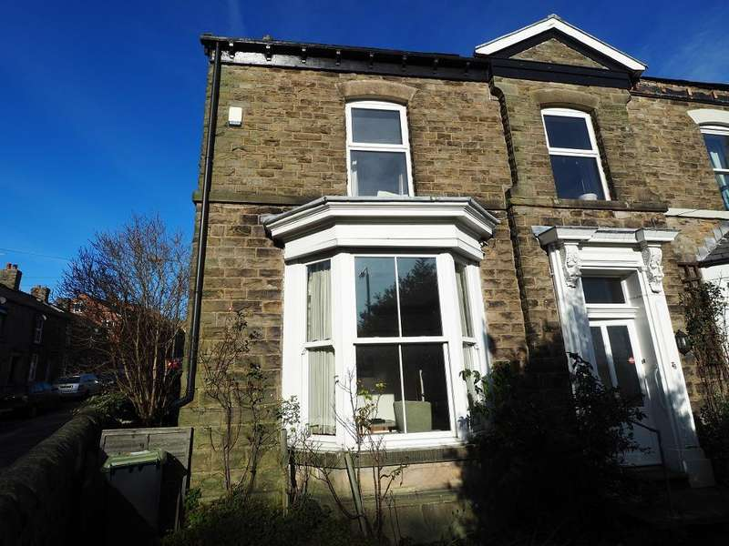 3 Bedrooms Semi Detached House for sale in Hall Street, New Mills, High Peak, Derbyshire, SK22 3BP