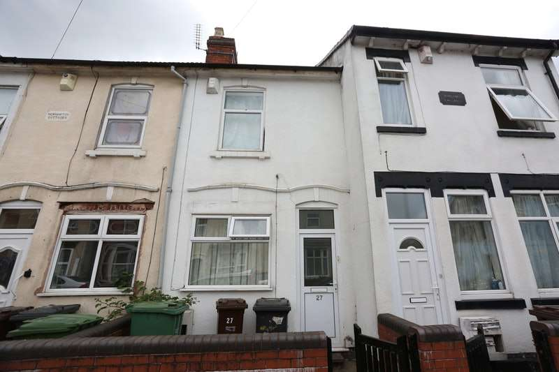 3 Bedrooms Terraced House for sale in Paget Street, Wolverhampton, West Midlands, WV1
