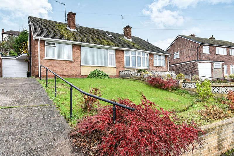 4 Bedrooms Semi Detached Bungalow for sale in Charnwood Road, Burton-On-Trent, DE13