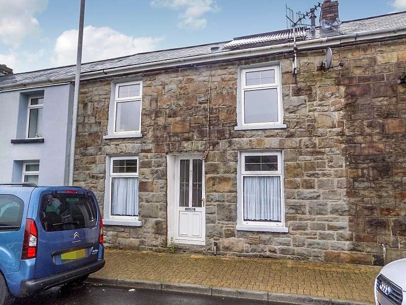 2 Bedrooms Terraced House for sale in Pembroke Terrace, Nantymoel, Bridgend. CF32 7NY
