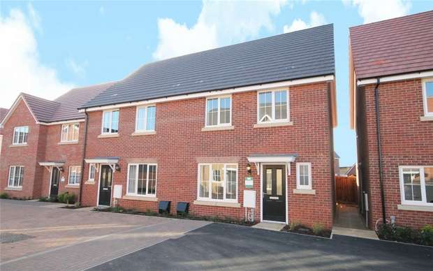 3 Bedrooms Semi Detached House for sale in The Dersingham, The Ferns, Wixams, Bedford