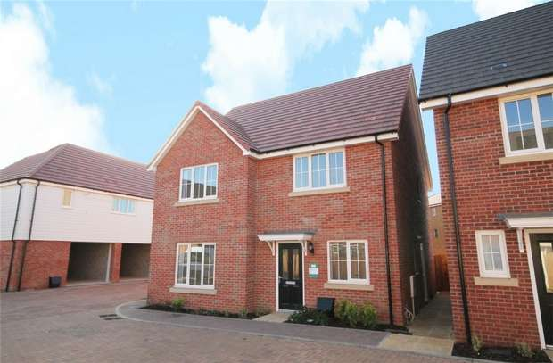 4 Bedrooms Detached House for sale in The Eversden, The Ferns, Wixams