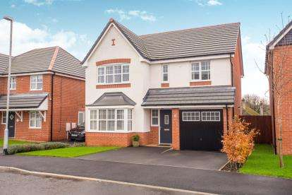4 Bedrooms Detached House for sale in Lapwing Close, Claughton-On-Brock, Preston, Lancashire, PR3