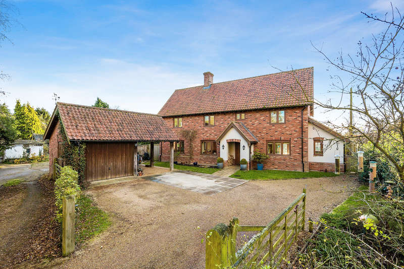 5 Bedrooms Detached House for sale in Moat Lodge, Hinderclay