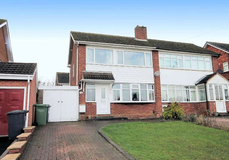 3 Bedrooms Semi Detached House for sale in Highcliffe Road, Tamworth, B77 1ED