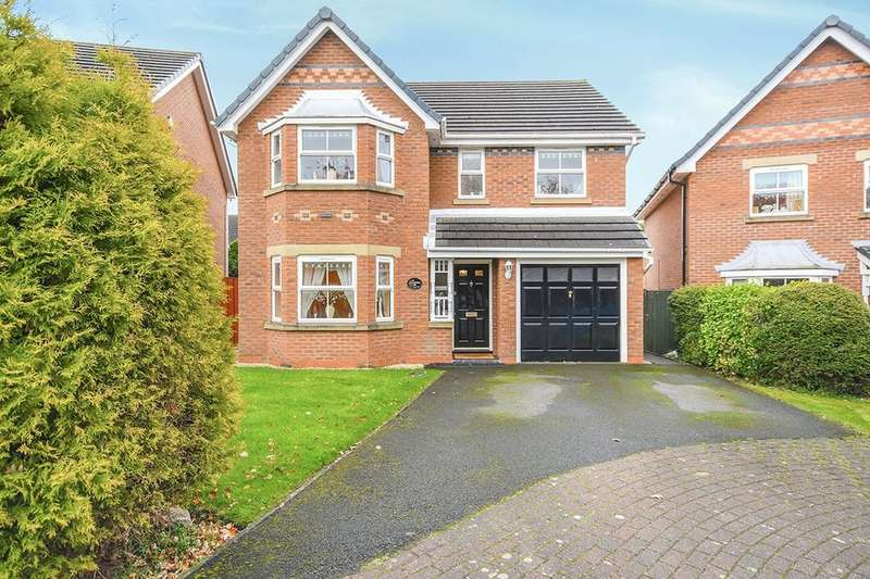 4 Bedrooms Detached House for sale in Heathfield Park, Widnes, WA8