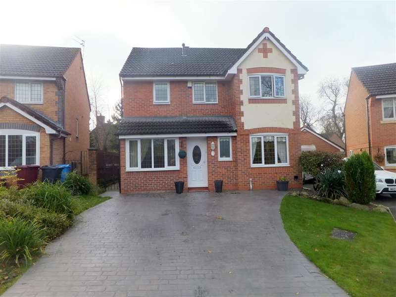 4 Bedrooms Detached House for sale in Westminster Grove, Prescot