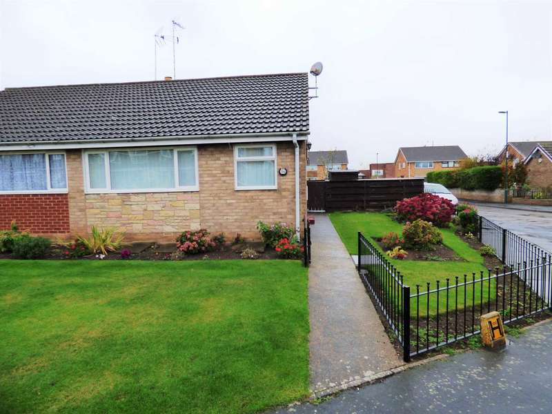 2 Bedrooms Semi Detached Bungalow for sale in Riftswood Drive, Marske By The Sea