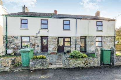 2 Bedrooms Terraced House for sale in Carnhell Green, Camborne, Cornwall