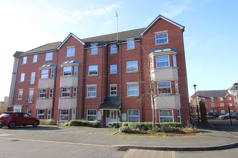2 Bedrooms Apartment Flat for sale in Trefoil Gardens, Amblecote, Stourbridge, DY8