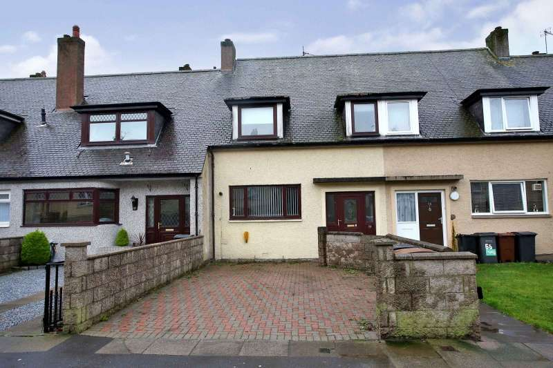 3 Bedrooms Terraced House for sale in Kirkhill Road, Torry, Aberdeen, AB11 8FX