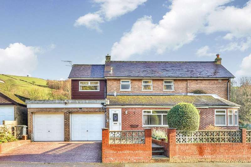 4 Bedrooms Detached House for sale in Rochdale Road, Walsden, Todmorden, OL14