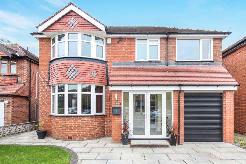 4 Bedrooms Detached House for sale in Lincoln Avenue, Heald Green,