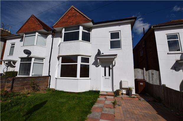 3 Bedrooms Semi Detached House for sale in Windermere Crescent, EASTBOURNE, East Sussex, BN22 8PR