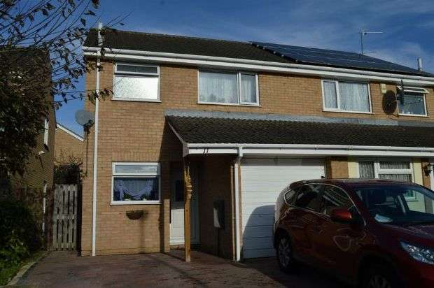 3 Bedrooms Semi Detached House for sale in Thornfield, Cherry Lodge, Northampton NN3 8QR