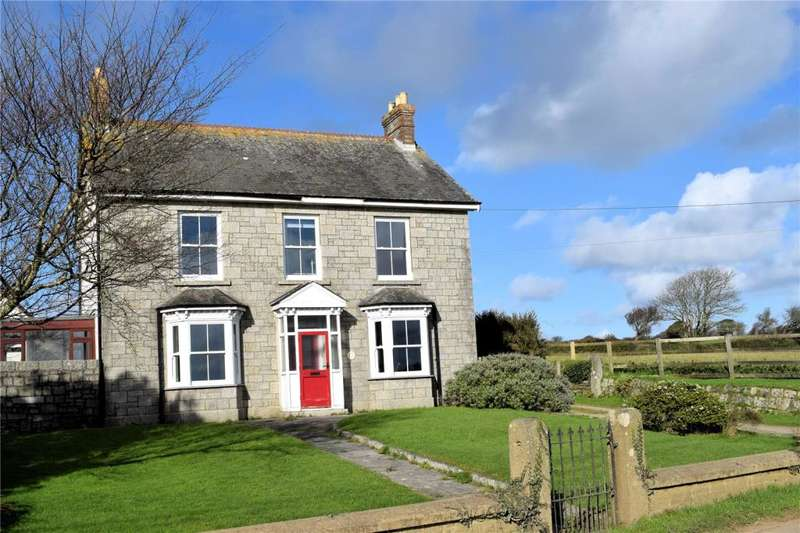 5 Bedrooms Detached House for sale in Townshend, Nr. Hayle