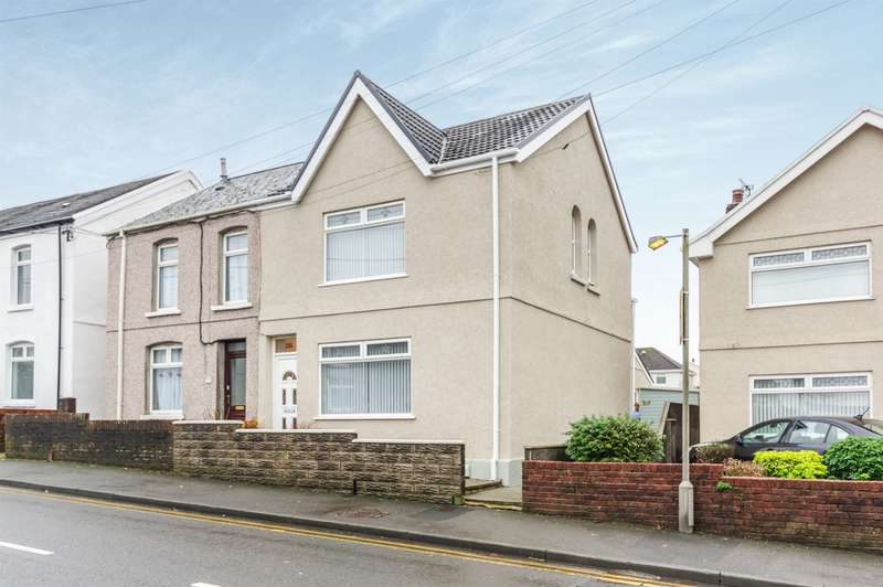 3 Bedrooms Semi Detached House for sale in Borough Road, Loughor, Swansea