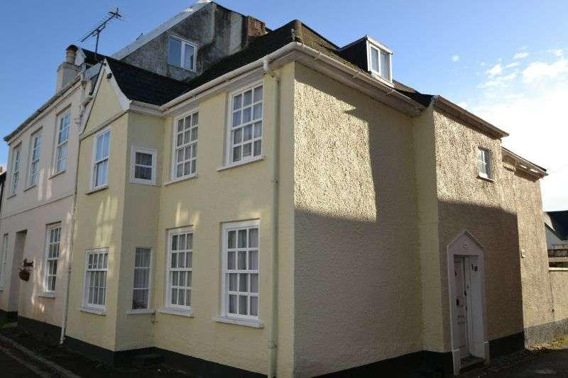 2 Bedrooms House for sale in SHAPTER STREET, TOPSHAM, NR EXETER, DEVON