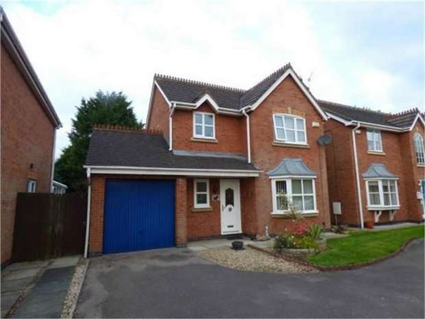 3 Bedrooms Detached House for sale in Foxglove Close, Hesketh Bank, Preston, Lancashire
