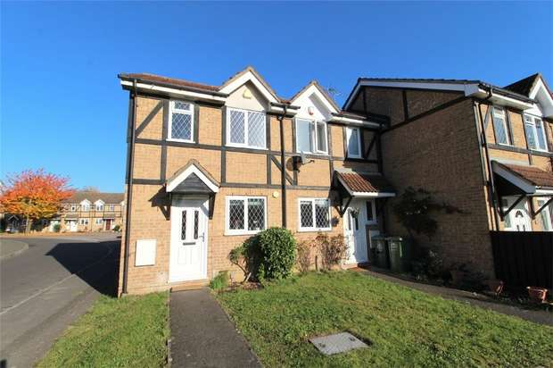 2 Bedrooms End Of Terrace House for sale in Seymour Way, Sunbury on Thames, Surrey