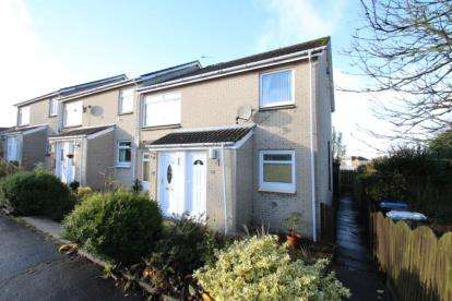 2 Bedrooms Flat for sale in Castlehill Crescent, Law, Carluke, South Lanarkshire